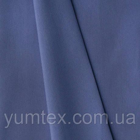 Однотонная хлопковая ткань Канзас, 75 % хлопок, цвет сиренево-голубой