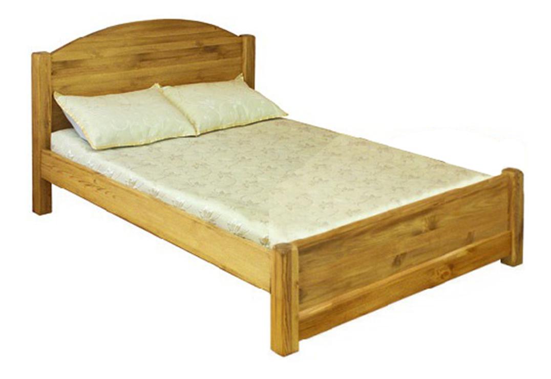 Ліжко з масиву дерева 050