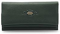 Стильный женский кошелек  зеленого цвета SACRED art.FW-3280