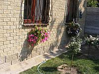 Кирпич декоративный модульный цвет на cером цементе (красный, коричневый, оливковый, светло-оливковый, черный)