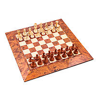 Шахматы на магните большие размер: 39х39х0,7см. 2806