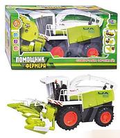Комбайн игрушечный Помощник фермера Limo toy, M 0343 U/R