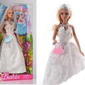 Кукла типа Барби Невеста 30см, сумочка, 3135