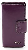 Тонкий женский кошелек фиолетового цвета SACRED art.940-3