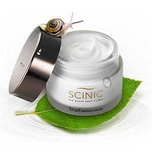 Улиточный крем SCINIC Snail Matrix Cream 50ml