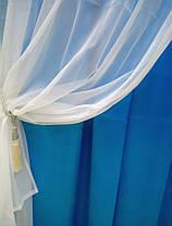 """Готовый комплект штор """"Артемида"""" (бирюза), фото 3"""
