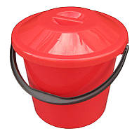 """Ведро пластиковое пищевое 5 литров с крышкой """"ПолимерАгро"""" + Видео, фото 1"""