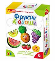 Гипс на магнитах 15100096Р Овощи,фрукты