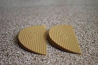 Полиуретановая подкова (рубец на задник) для ремонта обуви 90*40 мм. (Украина), цвет - бежевый