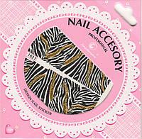 Слайдер-дизайн для ногтей Nail Accesory 1627
