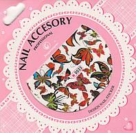 Слайдер-дизайн для ногтей Nail Accesory D 033