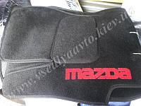 Ворсовые коврики в салон MAZDA 3  (2003-2009)