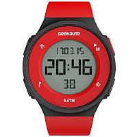 Часы водонепроницаемые мужские Geonaute W500 M SWIP красные