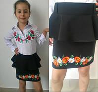 Школьная подростковая юбка мод.503-5 (р.38-44)
