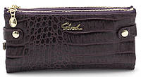Женский молодежный кошелек барсетка фиолетового цвета SACRED FW-88003