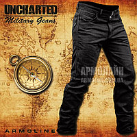 "Джинсы милитари ""UNCHARTED"" BLACK"
