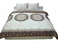 Комплект постельного белья Dreams malva 530-05 Present семейный + махровое полотенце в подарок