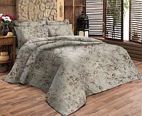 Комплект постельного белья Dreams malva 530-04 Present семейный + махровое полотенце в подарок