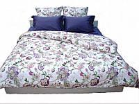 Комплект постельного белья Dreams malva 530-02 Present семейный + махровое полотенце в подарок