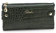 Женский молодежный кошелек барсетка зеленого цвета SACRED FW-88003