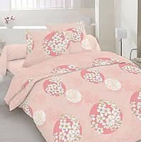 Комплект постельного белья Dreams malva 520-10 Present евро + махровое полотенце в подарок
