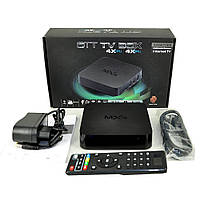 Приставка TV BOX 4Х Internet TV, телеприставка OTT TV Box MXQ Amlogic, приставка к телевизору