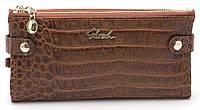 Женский молодежный кошелек барсетка песочного цвета SACRED FW-88003