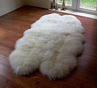 Ковер из 4-х овечьих шкур (овчины)