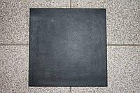 """Полиуретан для обуви 160*160*6,0 мм. (Украина), цвет - черный, рисунок ― """"Кожа"""", фото 1"""