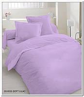 Комплект постельного белья Dreams malva 620-06 Present евро + махровое полотенце в подарок