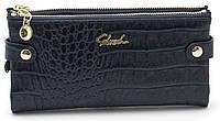 Женский молодежный кошелек барсетка синего цвета SACRED FW-88003