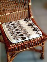 Шерстяное накидки на стул (табурет)
