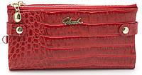 Женский молодежный кошелек барсетка красного цвета SACRED FW-88003