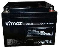 Аккумулятор гелевый Vimar BG25-12 12В 25Ah, фото 1