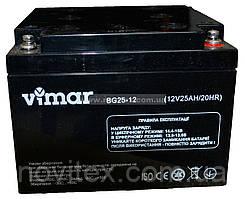 Аккумулятор гелевый Vimar BG25-12 12В 25Ah