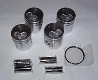 Поршни, кольца стандартные и ремонтные размеры