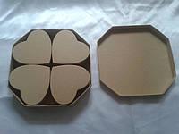 Набор декоративных коробочек для декупажа