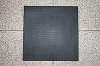 """Полиуретан для обуви 160*160*6,0 мм. (Украина), цвет - черный, рисунок ― """"Сетка"""", фото 1"""