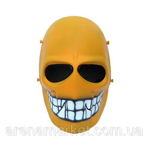 "Страйкбольная маска ""Yellow Smiley"" - желтый"