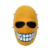"""Страйкбольная маска """"Yellow Smiley"""" - желтый, фото 1"""