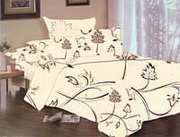 Комплект постельного белья Dreams malva 520-06 Present евро + махровое полотенце в подарок