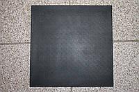 """Полиуретан для обуви 160*160*6,0 мм. (Украина), цвет - черный, рисунок ― """"Камень"""""""