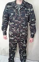 Костюм военно-полевой, спецодежда камуфляжная, штаны и куртка камуфляж, униформа