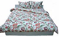 Комплект постельного белья Dreams malva 530-01 Present семейный + махровое полотенце в подарок
