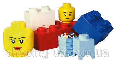 Четырехточечный голубой контейнер для хранения Lego PlastTeam 40031736, фото 2