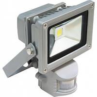 Светодиодный прожектор с датчиком движения FERON LL-834 1LED 10W белый