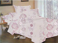 Комплект постельного белья Dreams malva 510-09 Present двуспальный + махровое полотенце в подарок