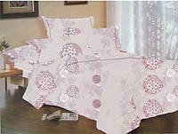 Комплект постельного белья Dreams malva 520-09 Present евро + махровое полотенце в подарок