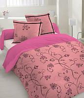 Комплект постельного белья Dreams malva 520-07 Present евро + махровое полотенце в подарок