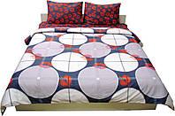Комплект постельного белья Dreams malva 320-14 Sateen евро, 4 наволочки